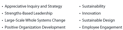 Focus Points for the Strengths Based Approach